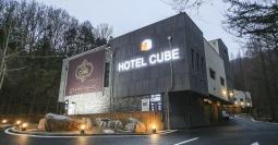 논산 호텔 큐브